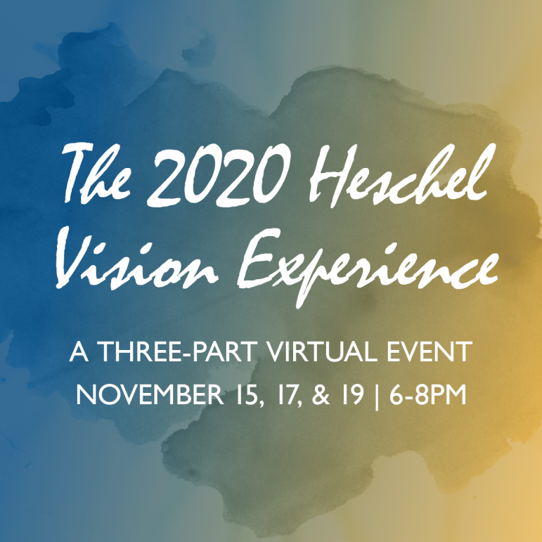 The 2020 Heschel Vision Experience